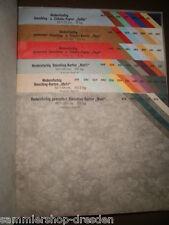 JK Modernfarbige Umschlagpapiere und Kartons, Musterbuch, mit über 50 farbigen