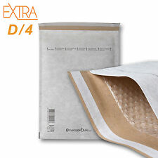 enveloppebulle EXTRA D/4 180x265mm Enveloppes à Bulles (100 Pièces)