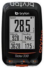 Bryton Rider 330 E ordinateur GPS pour Vélo Noir