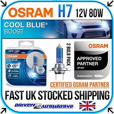 2x OSRAM H7 COOL BLUE BOOST 12v 80w XENON HID LOOK BULBS 5000K