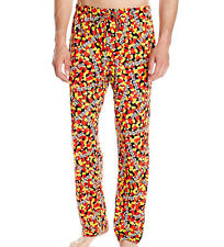 Men's Pjs Lounge Pants Me So Corny Candy Corn Halloween Size Medium 32-34