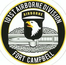 101ST AIRBORNE DIVISION Combat Action Badge STICKER