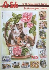 A5 Le Suh decoupage book Cats