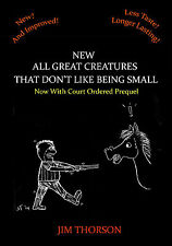 ALL GREAT CREATURES THAT DON'T LIKE BEING SMALL-Comic Parody of Herriot Book