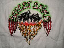 Vtg 80s Deadstock Vtg Tony Alva Speed Skins White Skateboard T Shirt sz XL RARE!