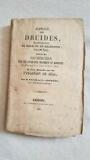Histoire des druides calédonie Smith Tourbières du Jura David de Saint Georges