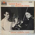 Leonid KOGAN & Elisabeth GILELS - Sonatas - violin - Columbia orig UK mono 1887