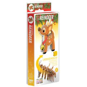 Eugy - 3D Model Craft Kit - Reindeer