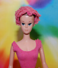 VINTAGE MISS BARBIE SLEEPY EYE FASHION QUEEN WIG DOLL #1060 + SUIT & WIGS