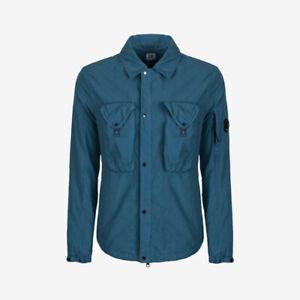 C.P. Company 50 Fili Overshirt - Dark Denim Blue