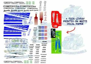 Fast & Furious Decal Pack   Waterslide Decals for 1/64 Hot Wheels Diecast Cars