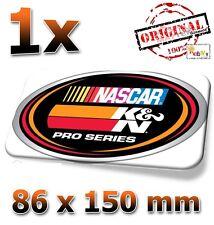 K&N NASCAR Motorsport 86x150mm Sticker, Aufkleber, Decal, KN, K und N