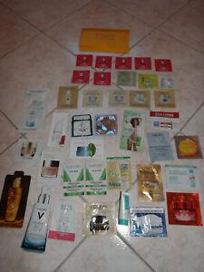 ** Lot de 38 Echantillons Crème soin visage L'Occitane et diverses marques **