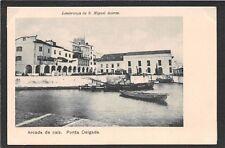 AZORES / ACORES,  SAO MIGUEL, Ponta Delgada,  Arcada de Caiz