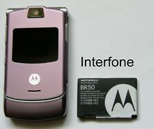 Motorola V3 Mobile Phone-T Mobile/EE/Virgin-Exc.Cond-Optional Charger Bundle