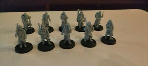 Death Korps of Krieg - Forge World - Resting Squad - Fully Assembled