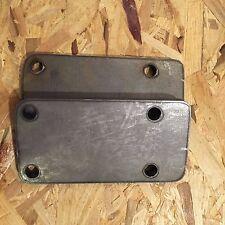 "1/2"" Engine Mount Plates for Cummins B-Series Blocks 6BT & 4BT Made in USA NEW"