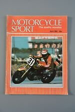 R&L Mag: Motorcycle Sport 1981 Apr Guzzi V50/Condor/BMW/BSA Pre 65 Trials