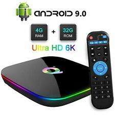 2020 Q-Box Plus Smart TV Box Android 9 Ultra 4k Sharp Hd Wifi Media IPTV Player