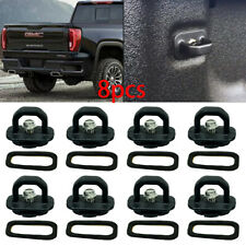 8X Car accessories Tie Down Anchor Truck Bed Side Wall Anchor Pickup GMC Chevy