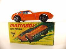 Matchbox Superfast n°3 Monteverdi HAI 1/64 jamais joué en boîte/ boxed