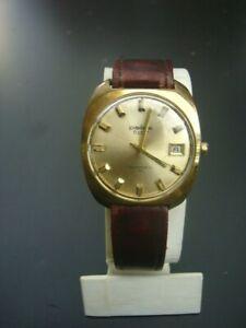 vergold. Armbanduhr - Pallas - Exquisit - Automatic - Datum - um 1970