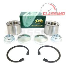 Rear Wheel Bearing Pair for NISSAN PRIMASTAR + RENAULT TRAFIC + VAUXHALL VIVARO