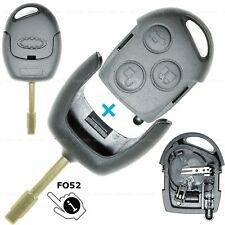 Schlüssel Gehäuse passend für Ford Focus I Fusion II Cougar Mondeo II Fiesta V