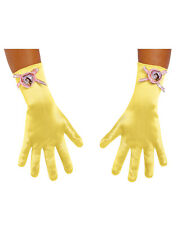 Disney Princess Beauty And The Beast Belle Yellow Child Girl Gloves