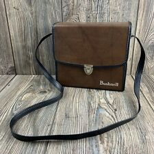 1980s Bushnell Binoculars Case, Faux Leather Vintage Hard Carry Case With Strap