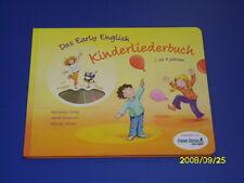 Das Early English Kinderliederbuch ab 4 Ja. mit CD
