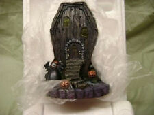 NIGHTMARE BEFORE CHRISTMAS HAWTHORNE VILLAGE VAMPIRE COFFIN HOUSE