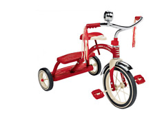 Radio Flyer Classic Red Dual Deck Tricycle Model #: 33 New !