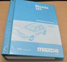 MAZDA 121 1996 Motor Bremsen Endura E DE Zetec-SE 1,3 1,25 1,8 Werkstatthandbuch