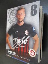 69366 David Blacha SV Wehen Wiesbaden original signierte Autogrammkarte