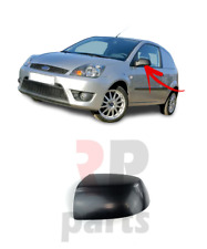 FOR FORD FOCUS 04-08, FIESTA 05-08 NEW WING MIRROR COVER CAP BLACK LEFT N/S