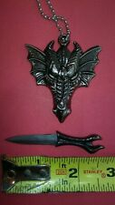 Dragon Head Athame Wicca Wiccan Pagan Ceremonial Knife Dagger Altar Tool