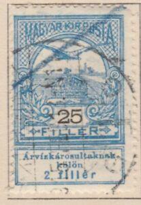 Ungarn Hungary Semi-Postal 1913 25f Used A18P32F524