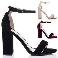 Unbranded Block Heel Women's Velvet Upper
