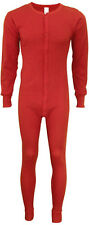 Red Outdoors Warm Thermal Union Full Body Suit