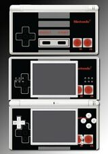 Retro NES Entertainment System Controller Video Game Skin Cover Nintendo DS Lite
