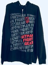 Authentic HITMAN Fight Gear Men''s Hoodies Graphic Cotton MMA UFC Jacket Top XL