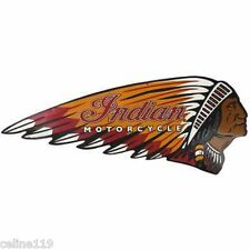 Indian Motorcycle Company Metal Signs - Chief Logo - Motorcycle - Since 1901