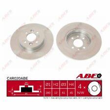 Bremsscheibe, 1 Stück ABE C4R020ABE