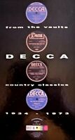 Decca From the Vaults - Country Classics 1934-1973 3 x CD & Book.