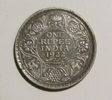 India-British 1922-B Rupee Silver Coin