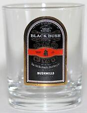"Shot Glass Black Bush Bushmills - 2"" High"