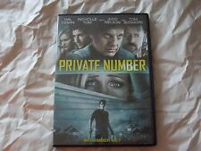 Private Number (DVD, 2015) Judd Nelson, Tom Sizemore