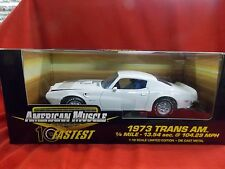 American Muscle 1973 Trans Am White #32755
