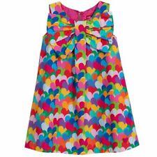 Agatha Ruiz de la Prada Heart Print Multi Colour Dress 8Y BNWT
